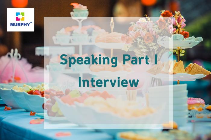아이엘츠 시험 스피킹 파트1 인터뷰(Interview)