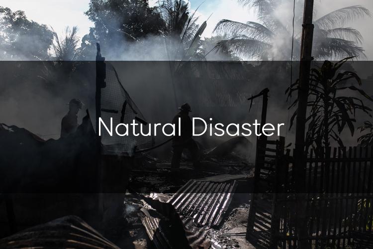자연재해 관련 단어들