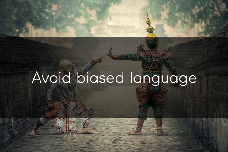 아이엘츠에 도움이 될 수 있는 TIP: 편견을 부르는 단어들은 피해주세요!2
