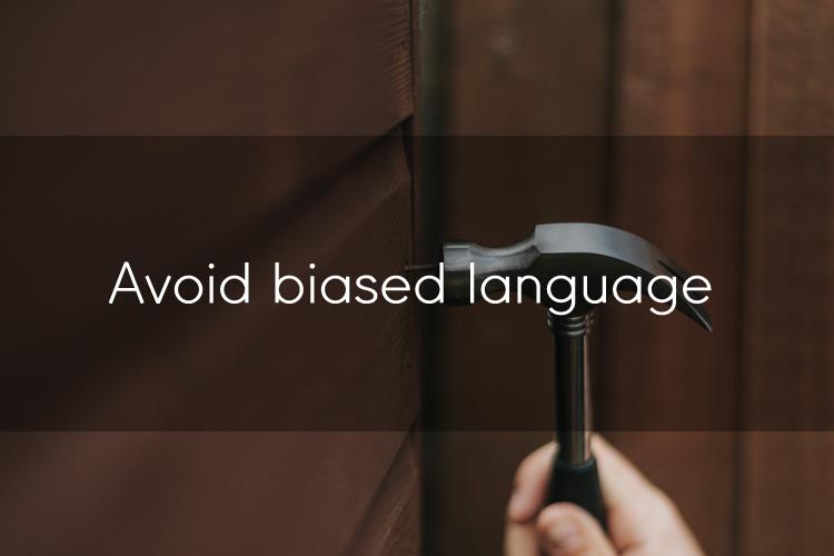 아이엘츠에 도움이 될 수 있는 TIP: 편견을 부르는 단어들은 피해주세요!3