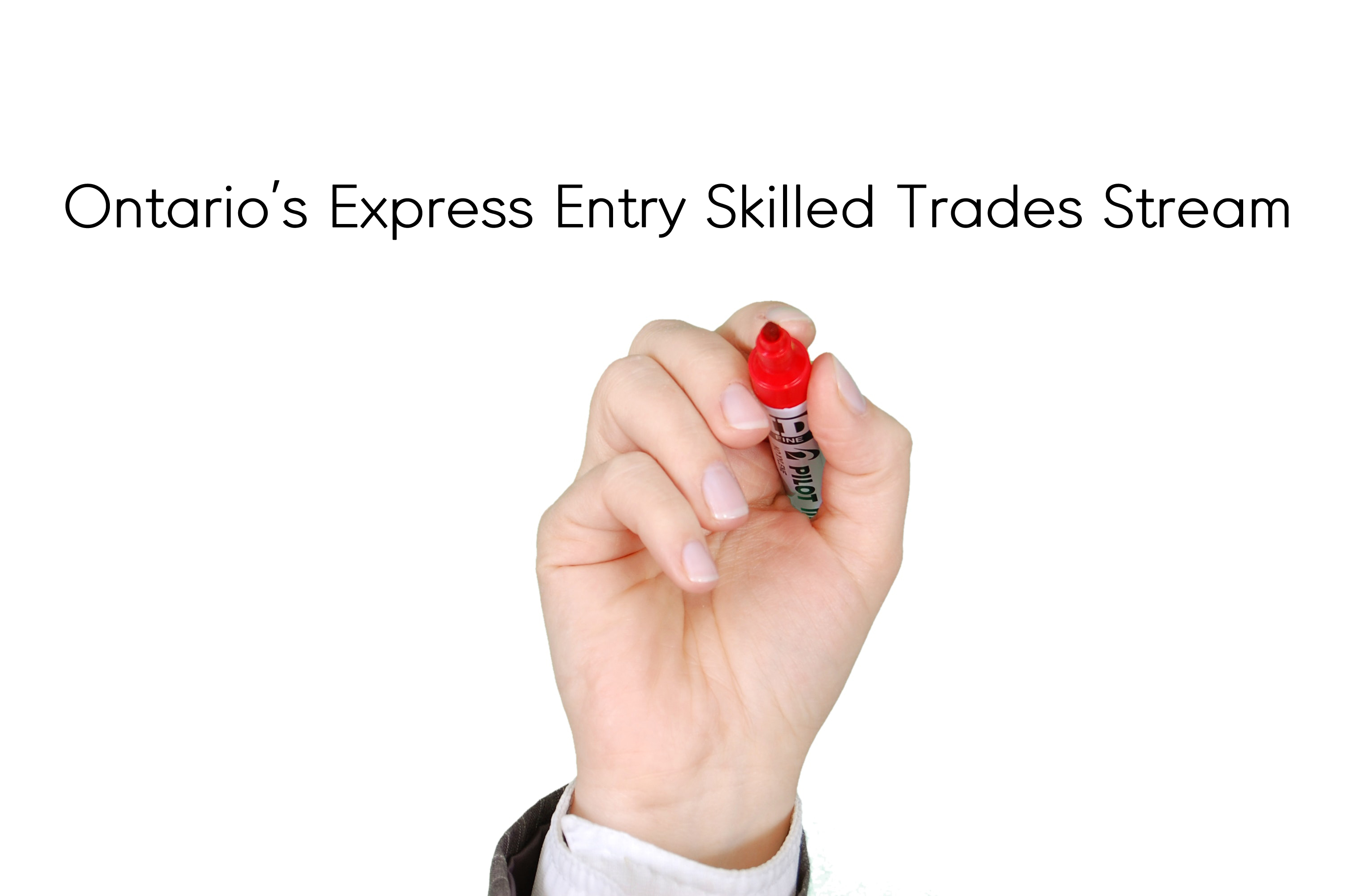 Ontario's Express Entry Skilled Trades Stream 자격조건 안내