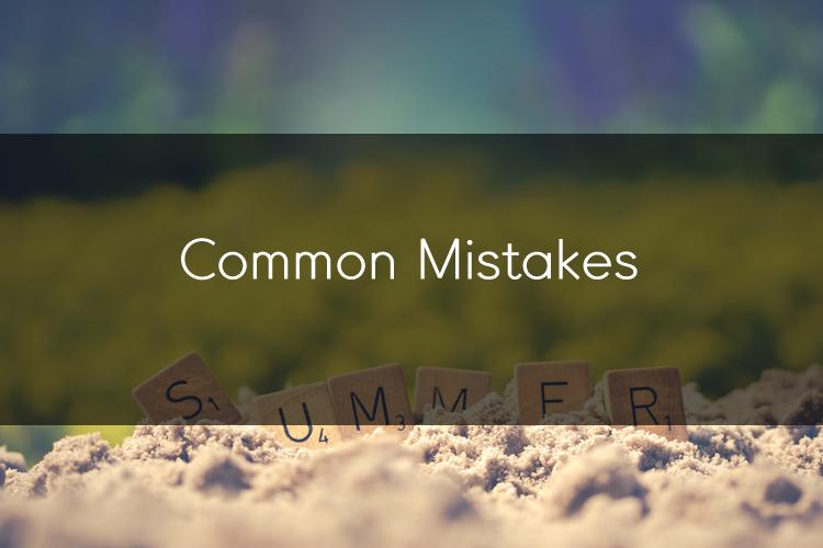 아이엘츠에 도움이 되는 팁: Common Mistakes 2