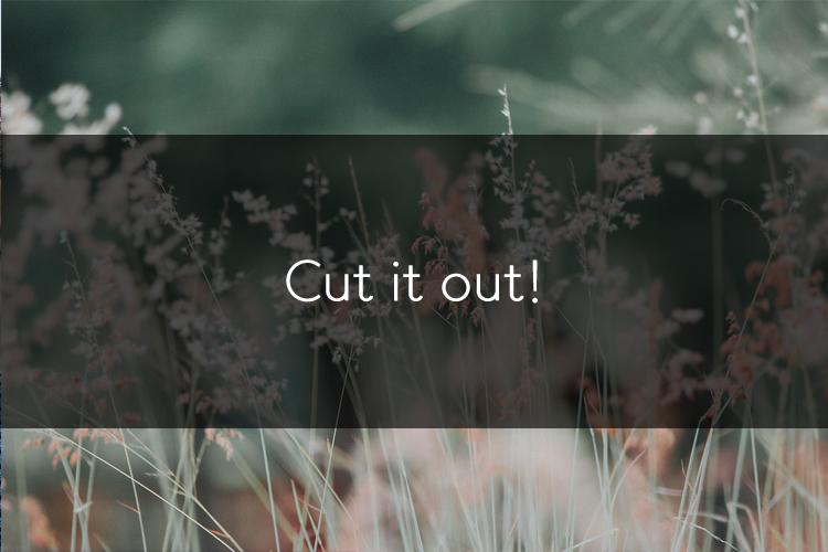 머피의 영어 한마디! Cut it out!