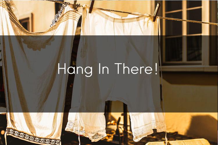 머피의 영어 한마디! Hang In There !