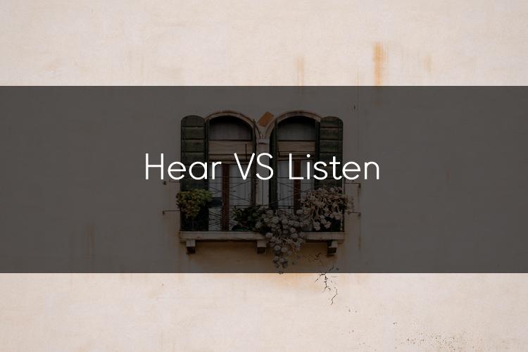 머피의 오늘의 문법! Hear VS listen