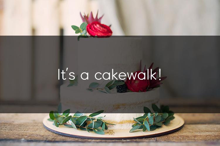 머피의 영어 한마디! It's a cakewalk!