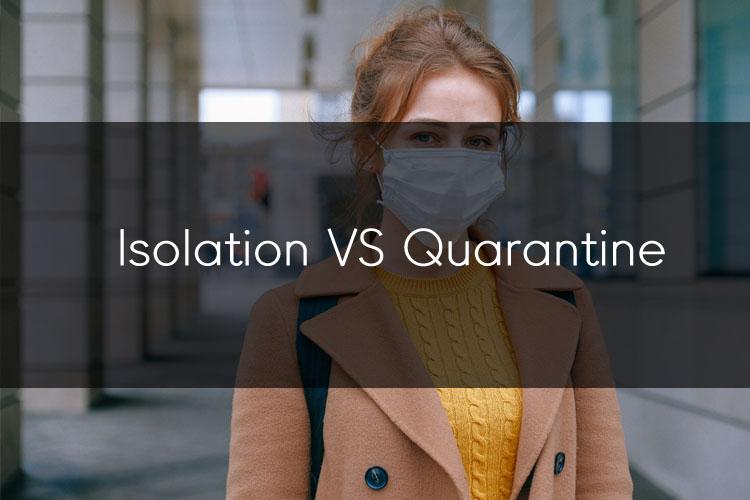 머피의 오늘의 문법! Isolation과 Quarantine